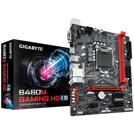 Mainboard Gigabyte B460M GAMING HD